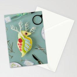 Giant Daphnia Laboratory Stationery Cards