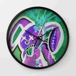 ZOMBIE BUNNIES  Wall Clock