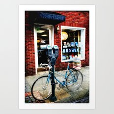Browse Art Print