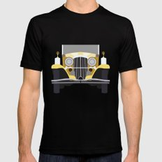 The Yellow Car LARGE Black Mens Fitted Tee