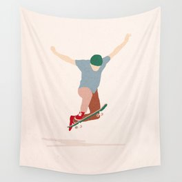 No comply Wall Tapestry
