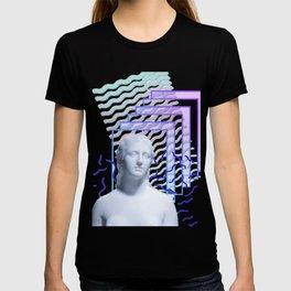 Vaporwave Greek T-shirt