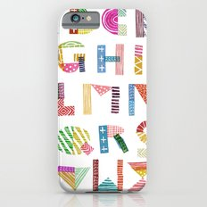 Carve December 2016 Alphabet Slim Case iPhone 6s