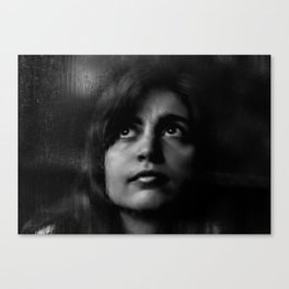 Blanco y negro Canvas Print
