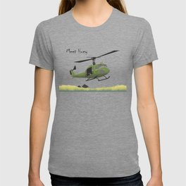 Huey Helicopter in Vietnam T-shirt