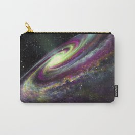 Unicorn Head Galaxy Carry-All Pouch