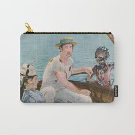 Boating on Crystal Lake: Manet Meets Friday the 13th Carry-All Pouch