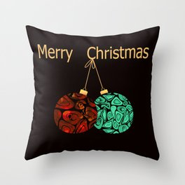 Christmas gift. Throw Pillow