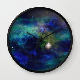 Stars and Waves Wall Clock