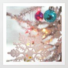 O Tinsel Tree Art Print