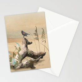 Beach Oasis Stationery Cards