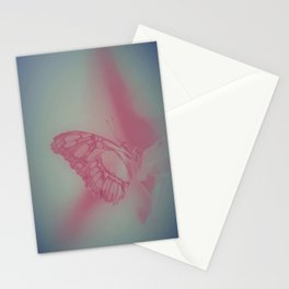 Pastell Butterfly Time Stationery Cards