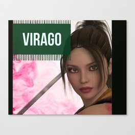 VIRAGO Canvas Print