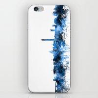 washington dc iPhone & iPod Skins featuring Washington DC Skyline by artPause