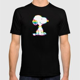 Snoopy Rainbow T-shirt