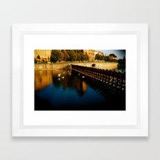 Il est Allemand Framed Art Print