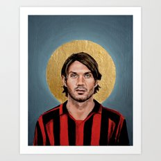 P Malldini (2005) - Football Icon Art Print