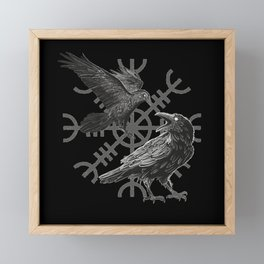 See you in Valhalla For fans of the Viking culture Framed Mini Art Print
