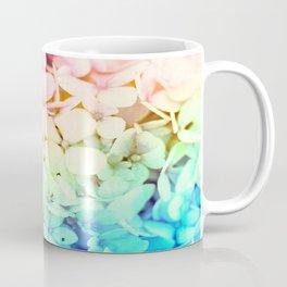 Pastel Rainbow Flowers Coffee Mug