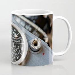 Wheel to set control sensitivity retro camera Coffee Mug