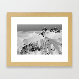 Mt.Fee Landscape series, Whistler BC Canada #4 of 5 Framed Art Print