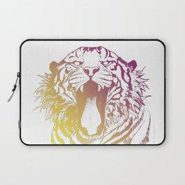 bicolor tiger Laptop Sleeve