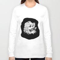 mushrooms Long Sleeve T-shirts featuring Mushrooms by Sam Dean Lynn