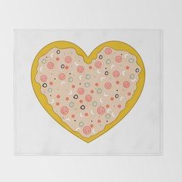Pizza is Love Throw Blanket