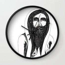 Ladybeard Wall Clock