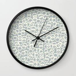 Black Tie Collection Links Grey Wall Clock