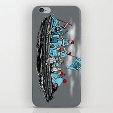 Team Zissou Crossing the Delaware iPhone & iPod Skin