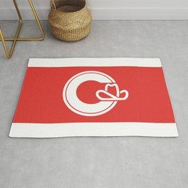 Flag of Calgary Rug
