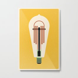 Lightbulb Metal Print