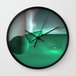 triptych Wall Clock