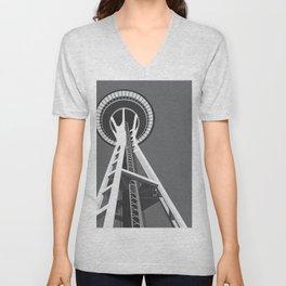 Space Needle Unisex V-Neck