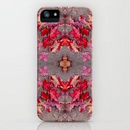 Oregon fall 3 geometry III iPhone Case