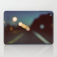 drive iPad Cases featuring Drive by elle moss