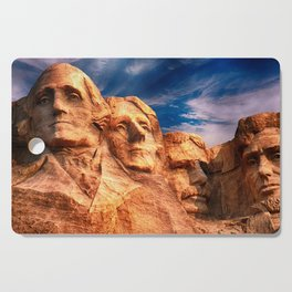 Mount Rushmore Cutting Board