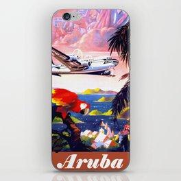 Fly to the Caribbean - Aruba iPhone Skin