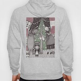 Of Snow and Stars and Christmas Wishes Hoody