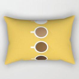 Coffee + Simplicity Rectangular Pillow