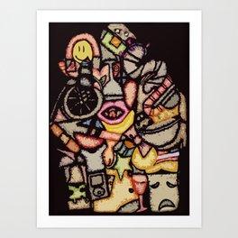 Pack Rat Art Print
