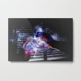 Universe in my hands Metal Print
