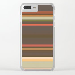 Stripes VII Clear iPhone Case