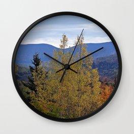 Mont Albert Quebec Wall Clock