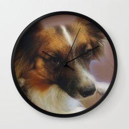 """""""Be Kind To Dogs"""" Wall Clock"""