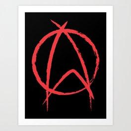 Federation Anarchy Art Print