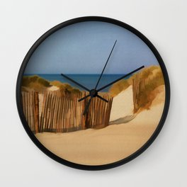 CAPE COD Travel Poster Vintage Style Wall Clock