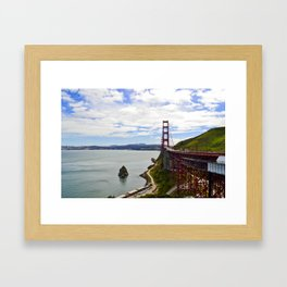 Golden Stretch Framed Art Print