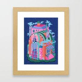 The Eye House Framed Art Print